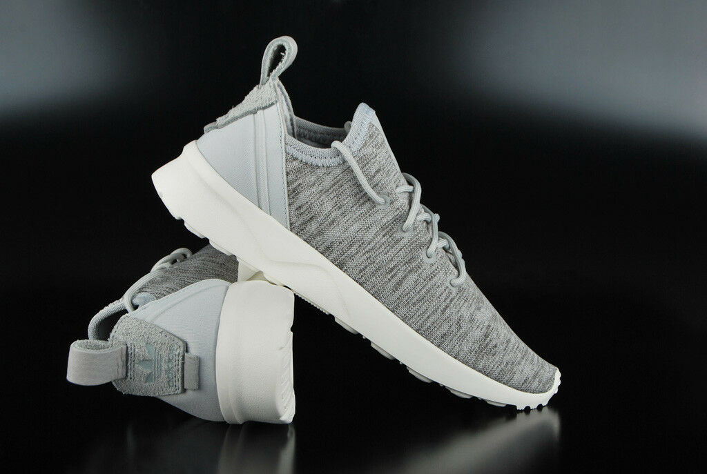 Adidas Originals ZX Flux ADV virtue Sock Clear Onix Trainer Running shoes