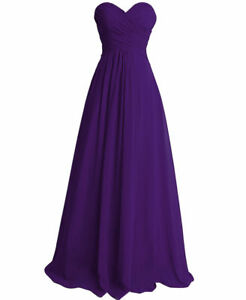 Formal-Long-Bridesmaid-Dress-Wedding-Cocktail-Evening-Party-Prom-Ball-Gown-Dress