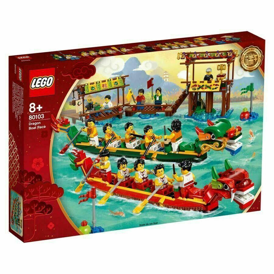 LEGO 80103 GARA DI BARCHE DRAGO SET  ESCLUSIVO  profitto zero