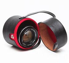 Vivitar Small Hard Lens Case For Nikon Soligor Takumar Prime Wide Angle Lenses