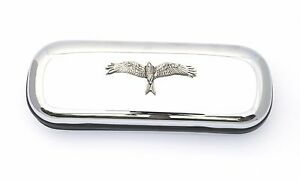 Red Kite Motif Pen Case & Ball Point Bird Of Prey Gift Free Engraving 296 AgréAble à GoûTer