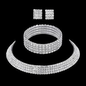 Crystal-Bridal-Jewelry-Sets-Rhinestone-Necklace-Wedding-Engagement-Jewelry-Sets