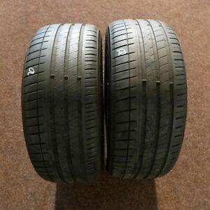 2x-Michelin-Pilot-Sport-3-Ao-245-45-r18-100y-Dot-3815-5-mm-pneus-d-039-ete