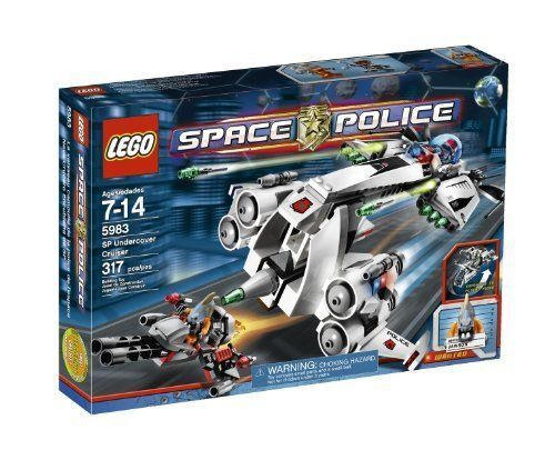 NEW SEALED BOX - - - LEGO SPACE POLICE SP Undercover Cruiser Set - 5983 / 317 pieces dce593