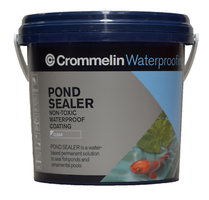 Details about Crommelin POND SEALER 1L CLEAR Non-Toxic Waterproof Coating,  UV Stable AUS Brand