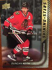 2015/16 UD Hockey Series 1 Duncan Keith  Shinning Star #SS-4