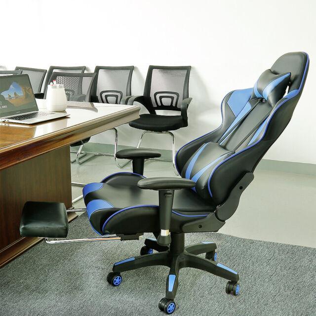 Bürostuhl Limit XM Kunstleder mit Massagefunktion Computerstuhl Gamingstuhl
