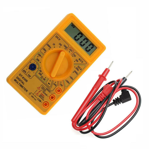 DT-830B Multimètre LCD Gamme Auto Numérique Voltmètre Ohmmètre Volt Testeur