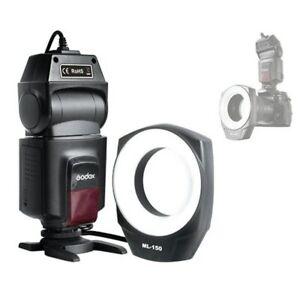 Godox ML-150 Macro Ring Flash Light For Canon Nikon Pentax Olympus DSLR cameras