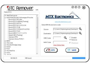 Details about MTX DTC REMOVER 2017