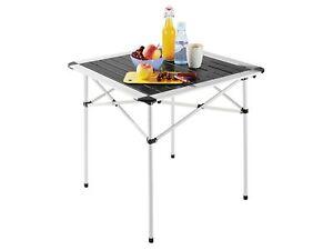 Table de Camping Pliante Aluminium Jardin Pliable Balcon | eBay