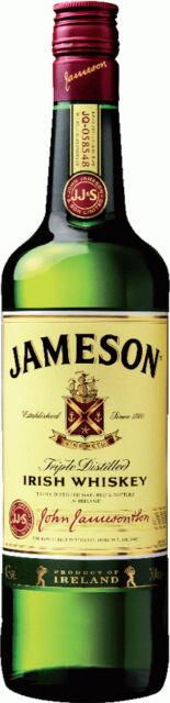 Jameson, Irish Blended Whiskey, 1 Liter