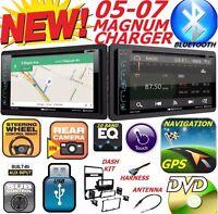 05 06 07 Dodge Magnum Charger Car Radio Stereo Gps Navigation System Bluetooth