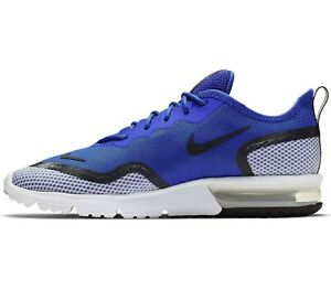 Nike-Air-Max-UK-Size-11-Men-039-s-Trainers-Blue-White-Shoes-EUR-46