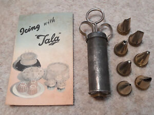 Vintage ICING WITH TALA Icing Kit Set. VGC. Lovely Gift. Retro GIft.