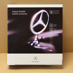 Mercedes A Klasse C Klasse W203 Zubehör Katalog Prospekt Collection Ausgabe 2005