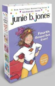 Junie-B-Jones-039-s-Fourth-Boxed-Set-Ever-Books-13-16-Paperback-by-Park-Bar