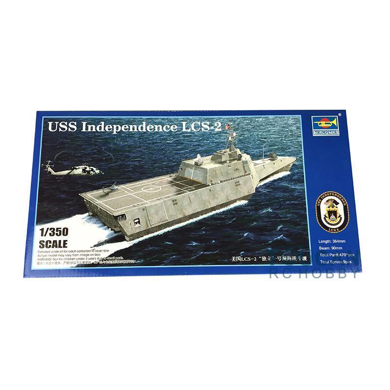 04548 USS Independence LCS-2 Battleship Kit 1 350 Trumpeter Littoral Combat Ship