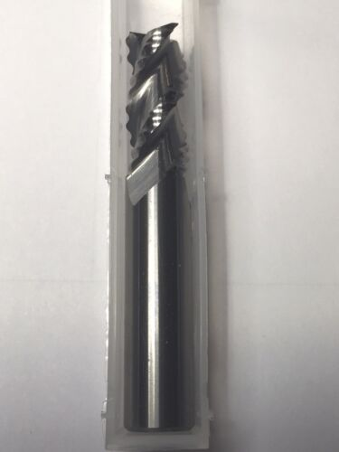 "1//2/"" x 1-1//4/"" Cut AlumaRough 3 Flute Carbide Rougher End Mill Aluminum USA F24"