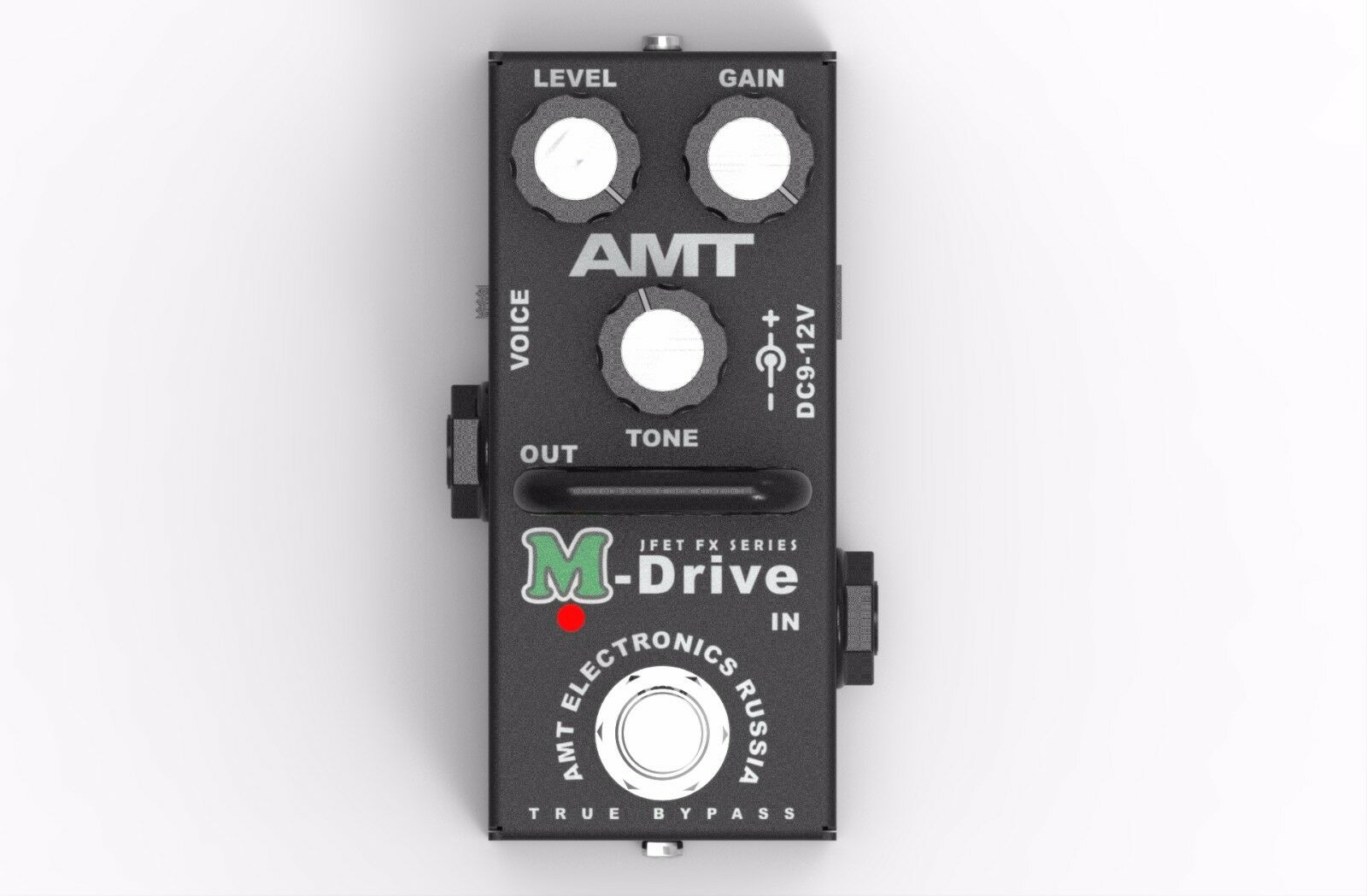 AMT Electronics M-Drive mini - JFET distortion pedal Russian  amplifire