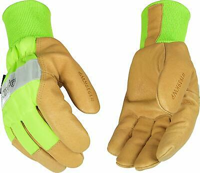6 Pairs Kinco Cold Weather 1928 XLG Men/'s Grain Pigskin Leather Palm Gloves