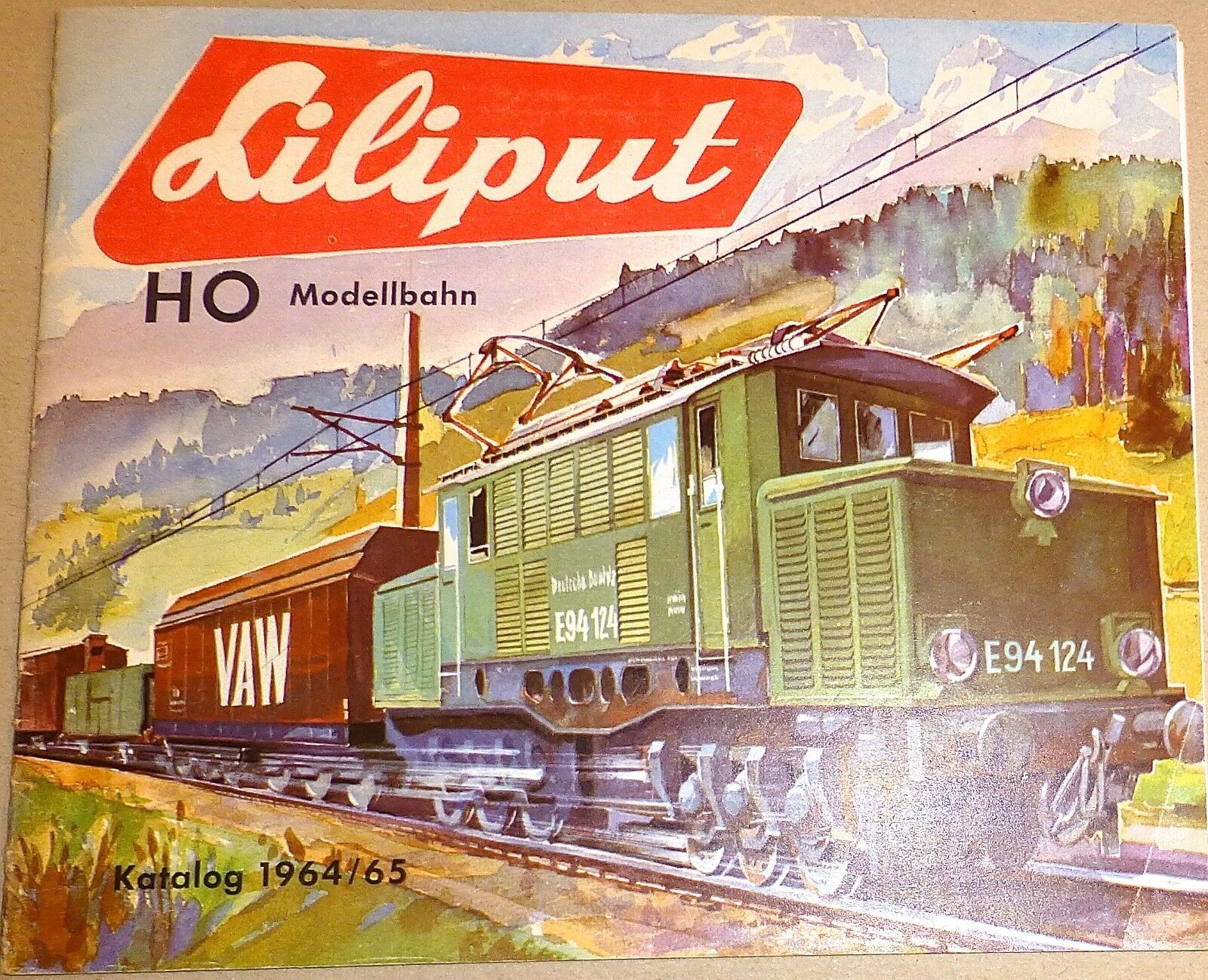 Liliput Catalogue 1964 65 H0 Å