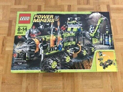LEGO energia Miners-Titanium  Comuomod Rig  8964 BRe nuovo SEALED  vendita con alto sconto
