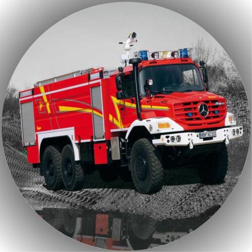 Oblate Feuerwehr P11 Tortenaufleger Geburtstag Party Tortenbild Fondant
