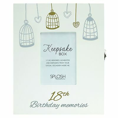 Baby 100% True New New Keepsake Boxes/gift/18th/21st/wedding/baby Blue/baby Pink/key/memories Refreshing And Beneficial To The Eyes Keepsakes, Memory Books