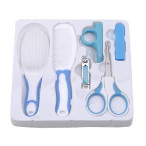 Newborn-Baby-Nail-Care-Cutter-Scissors-Clipper-Manicure-Pedicure-Kit-Gift-Set-S
