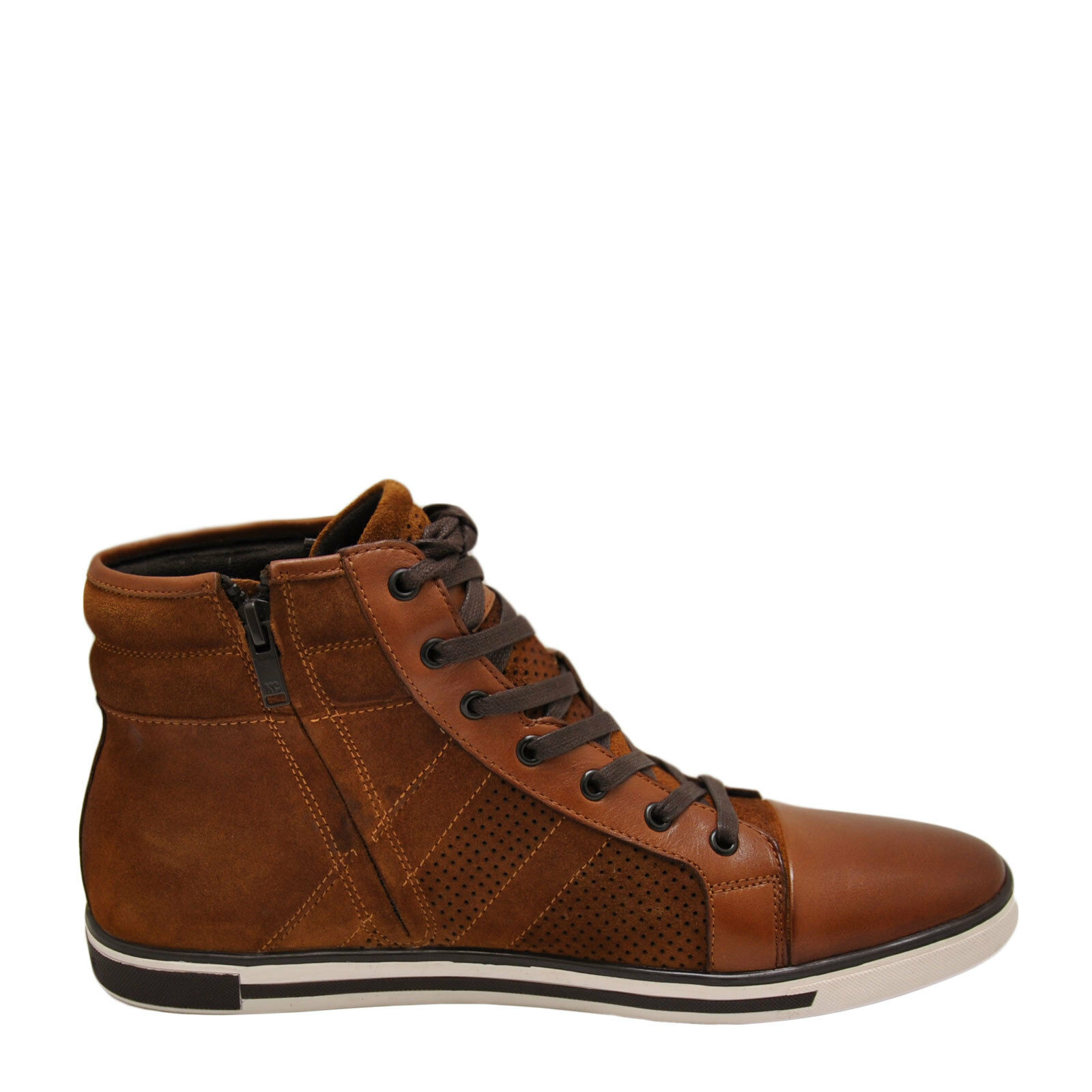 Kenneth Cole Initial point rouille Homme High Top paniers KMS7LW005