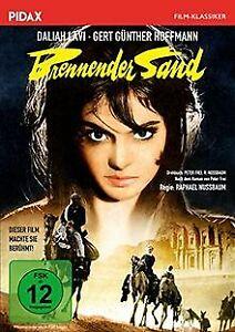 Brennender-Sand-Spannender-Abenteuerfilm-mit-exotischer-DVD-Zustand-gut