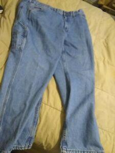 Schmidt Ropa De Trabajo 46 X 32 Para Hombre Pantalones Jeans Azul Construccion Comodidad Carpintero Ebay