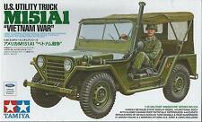 KIT TAMIYA 1:35 MEZZO US UTILITY TRUCK M151A1 VIETNAM WAR art. 35334