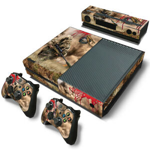 à Condition De Xbox One Skin Decal Sticker Sniper Camouflage + 2 Controller Custom Design Set