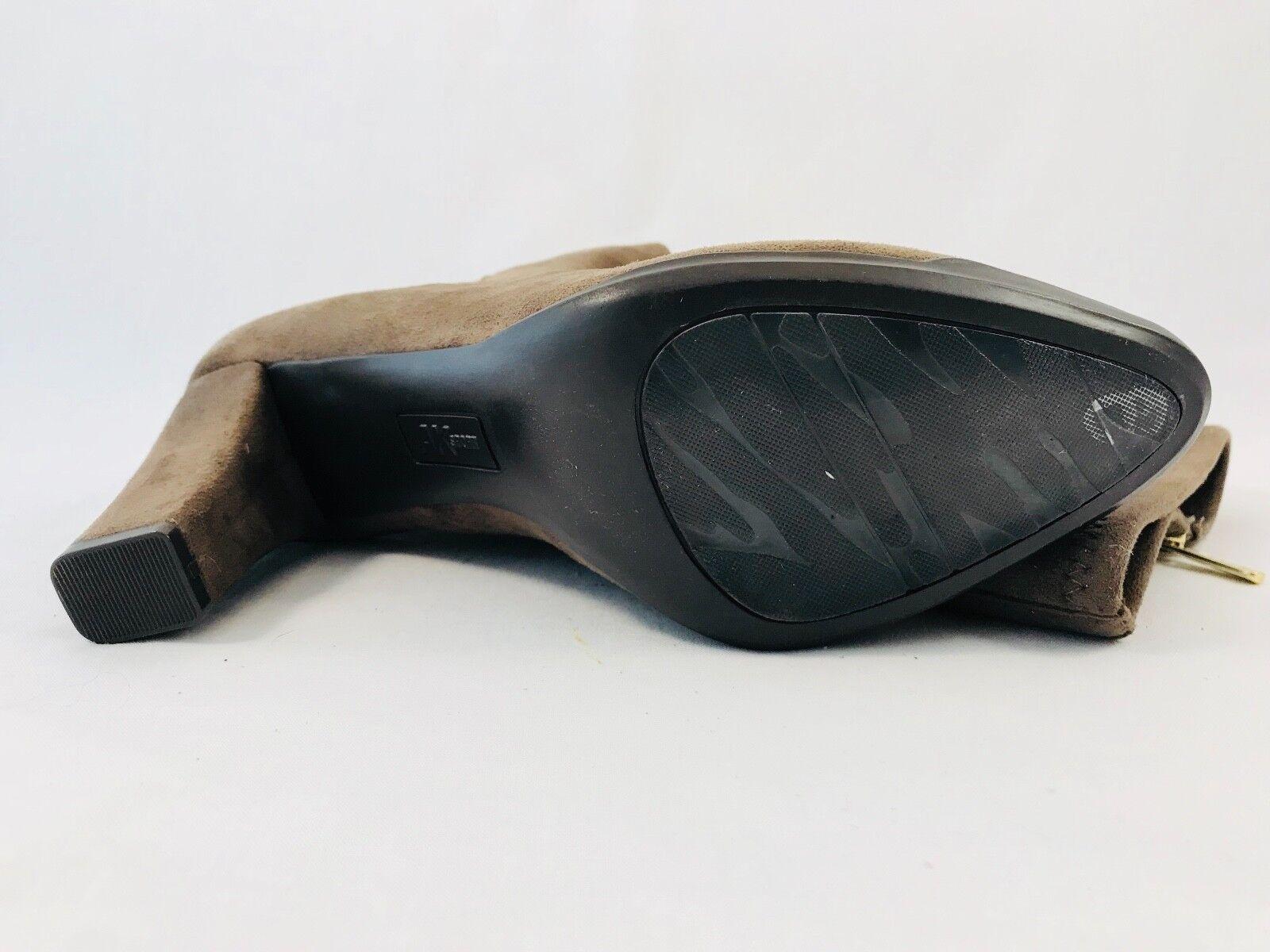 Anne Klein Sport Elek Damens Round Toe Canvas Größe Taupe Knee High Boot Größe Canvas 8.5 87de3f