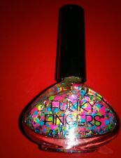 Funky Fingers PEP RALLY Nail Polish Paint Confetti Valentines  FREE SHIPPING