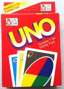 CLASSIC UNO CARDS Family Fun! Playing Cards POSTS from MELBOURNE