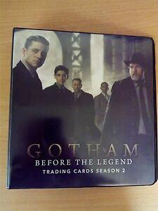 Gotham Season 2 Official Cryptozoic Binder FKb7nFqe-09154758-502157983