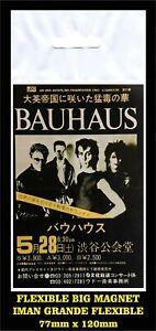 Bauhaus-In-Japan-1983-iman-Premium-BIG-magnet-Peter-Murphy