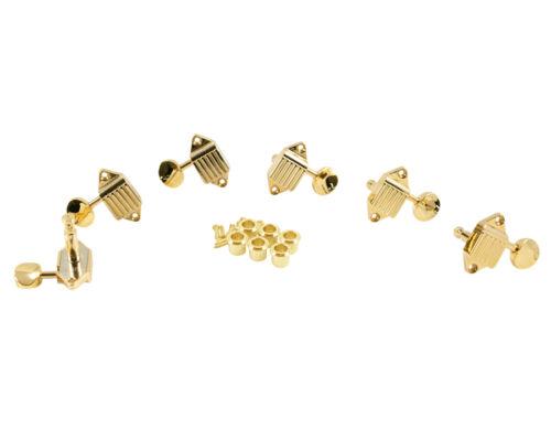 Oval Metal Button Gold SK900SLG//O NEW Kluson Waffleback 3x3