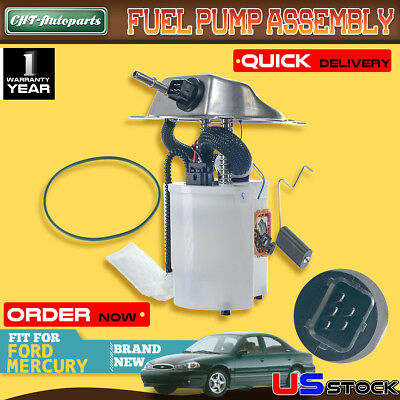 Fuel Pump and Sender Assembly Motorcraft PFS289 Ford Contour 99 00