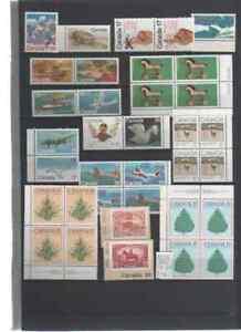 Canada Posten Sondermarken aus 1979-1982 postfrisch