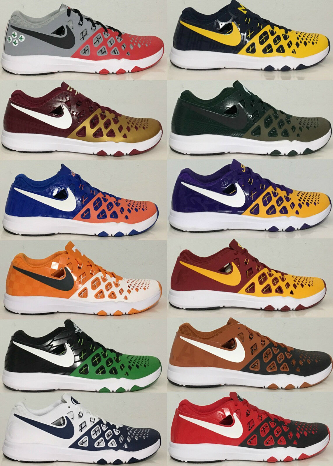 Nike Train Speed 4 AMP Licensed Collegiate Edition Training Shoes [844102]
