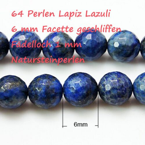 Lapislazuli Edelsteinperlen Lapis Lazuli Schmuckperlen Gemstone Natursteinperlen