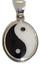 thumbnail 1 - Ying Yang Pendant Black & White 925 Sterling Silver