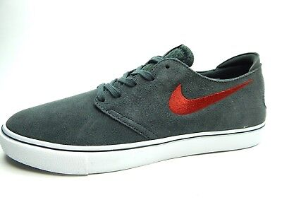 mimar Marca comercial Mujer joven  NIKE ZOOM ONESHOT SB ANTHRACITE GYM RED BLACK WHITE MEN SHOES SIZE 8.5 |  eBay