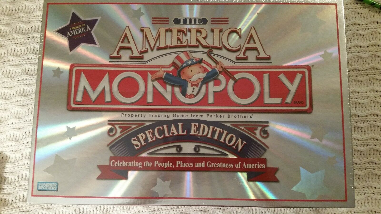 New and Sealed Monopoly The America Special Edition