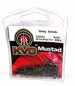 Mustad-KVD-Strong-Swivels-Select-Size-and-Quantity
