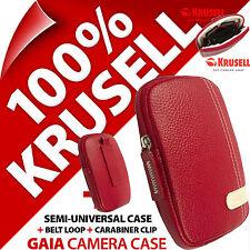New Krusell Gaia Universal Compact Digital Camera Case Bag for Sony Samsung Fuji